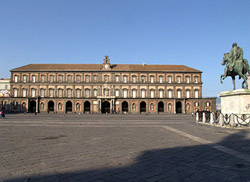 Royal Palace of Naples - Façade of the Royal Palace of Naples