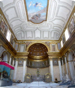 Royal Palace of Naples - The Chapel of the Royal Palace in Naples