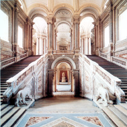 Naples and Pompeii tour - Great Staircase of the Royal Palace of Caserta