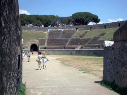 Wine tasting tour with Pompeii and Mastroberardino cellars - Amphitheatre in Pompeii, the most ancient in the world
