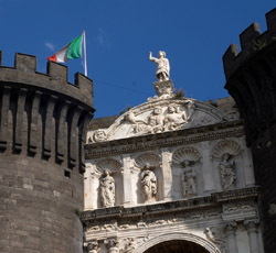 RENAISSANCE IN NAPLES - Triumphal Arch of the Maschio Angioino Castle
