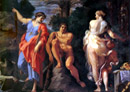 Gay tours - Hercules at the crossroads by Annibale Carracci from the Capodimonte Museum in Naples