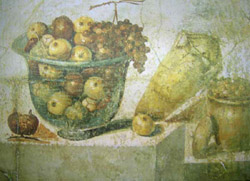 A fresco in the House of Julia Felix