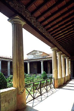 The peristyle of House of Menander