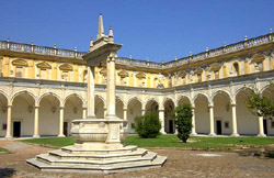 The Cloister  of Certosa of San Martino