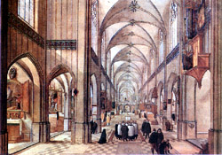 SORRENTO CORREALE MUSEUM: Antwerp Cathedral by A. Grimmer