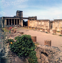 Naples and Pompeii tour - The Basilica (or the Palace of Justice in Pompeii)