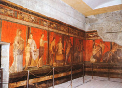 Frescos of Villa of the Mysteries
