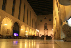 NAPLES GOTHIC CHURCHES: The Interior of Santa Chiara Church